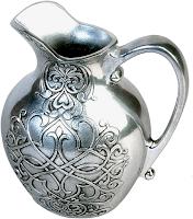 zilveren kan