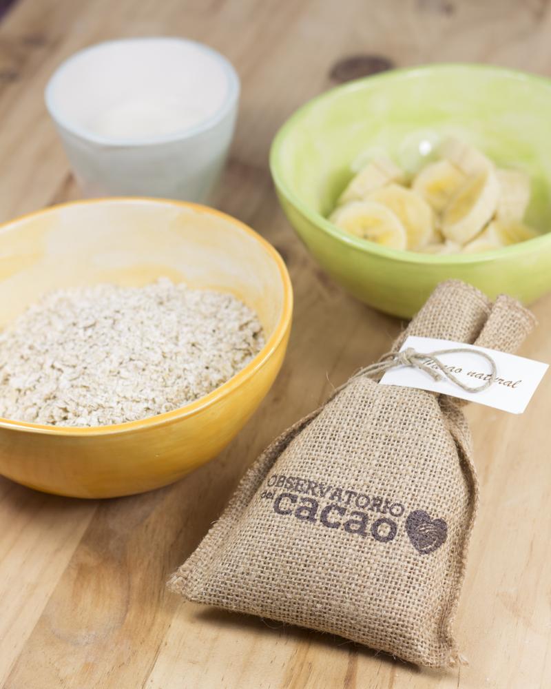 Objetivo Cupcake Perfecto Tortitas De Platano Cacao Natural Y