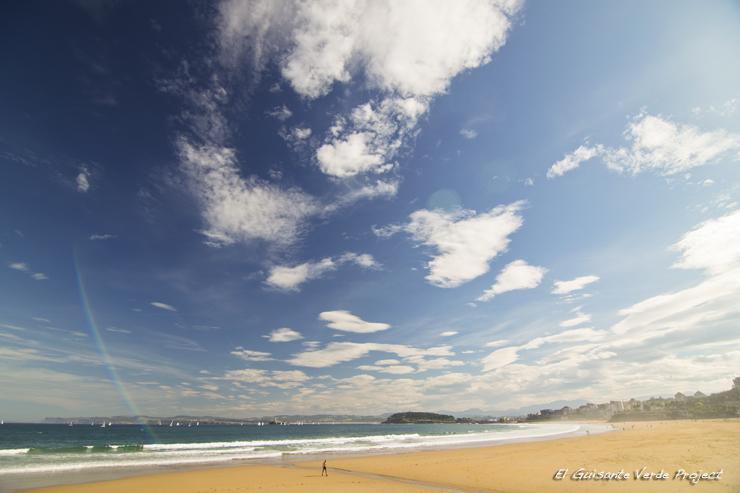 Playa de El Sardinero  - Santander por El Guisante Verde Project