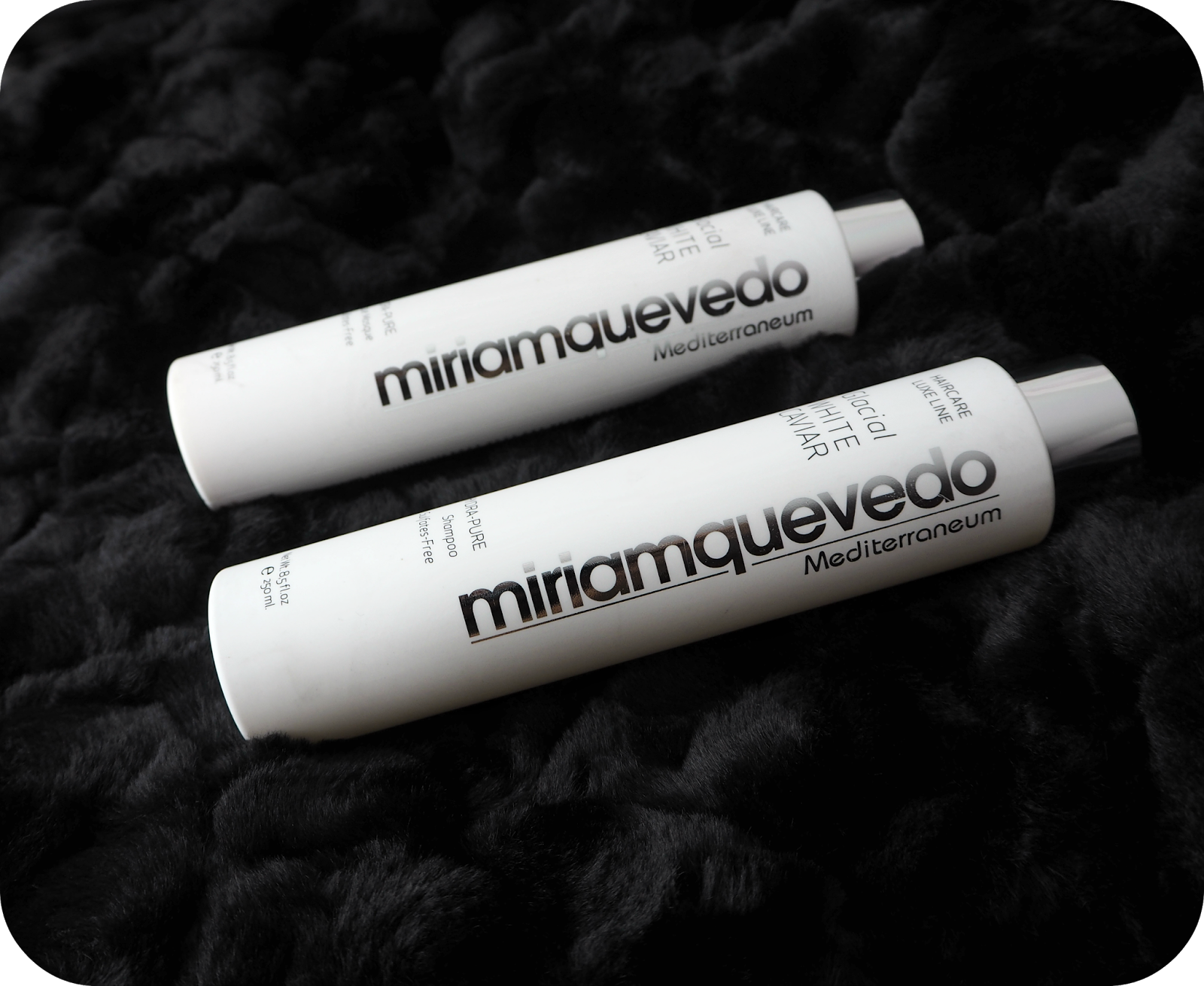 Miriam Quevedo Glacial White Caviar Shampoo and Hydra-Pure Rescue Mask Conditioner Review