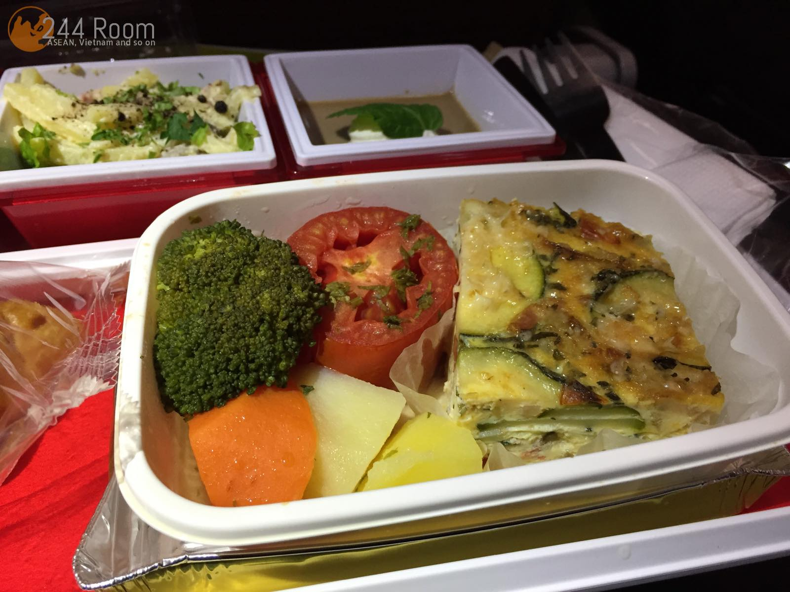 JALJL752機内食(朝食) Jal in-flight meal3