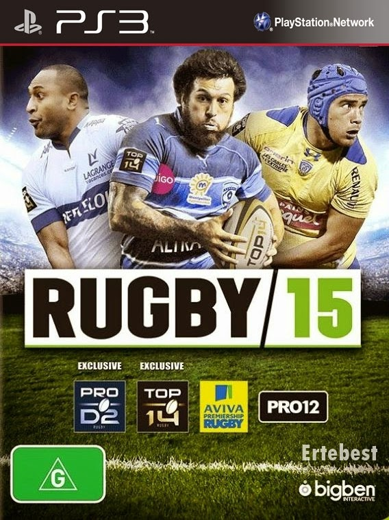Rugby 15 PS3 free download full version