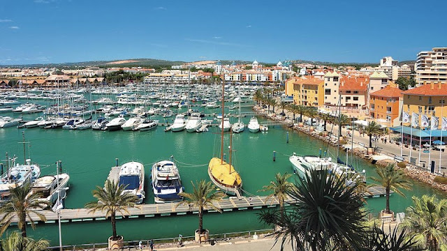 Vilamoura no Algarve