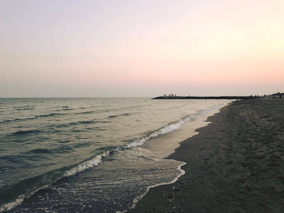 sunset & sunrise // Cavallino Beach, Italy