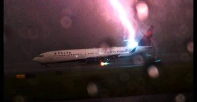 Els llamps i els seus efectes en l'avió