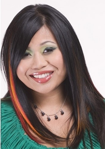 Beautiful Hair Styles Two Tone Hair Color For Long Hair