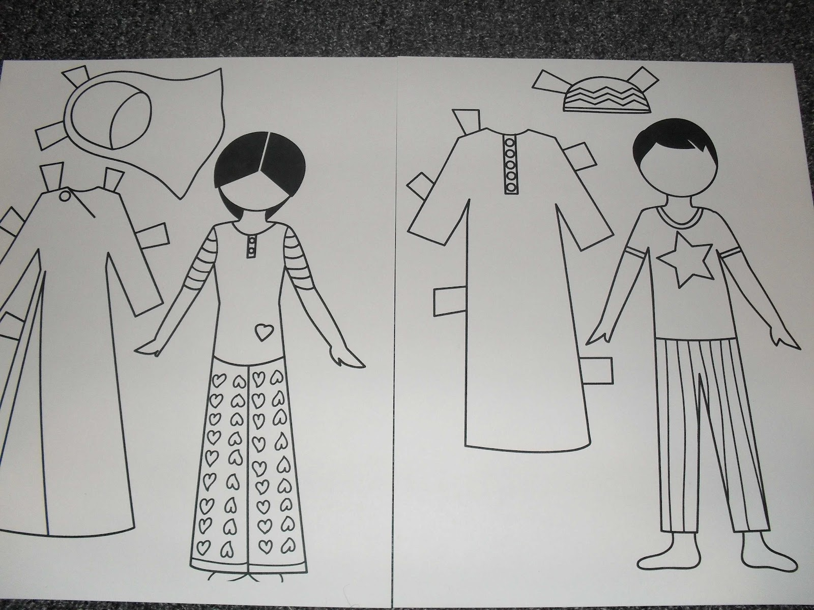 A Muslim Child Is Born Our Muslim Paper Dolls