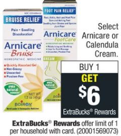 free Arnicare Bruise