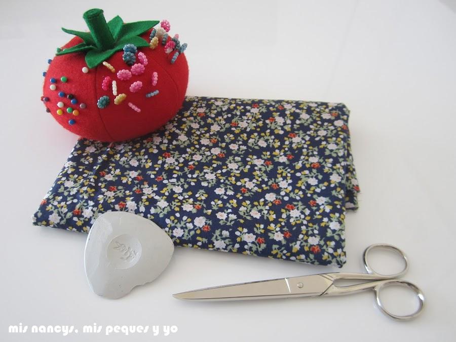 mis nancys, mis peques y yo, tutorial blusa sin mangas niña (patrón gratis), materiales