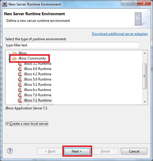 notesOfMyJavaCareer: Adding JBoss AS7 Server Plugin in Eclipse