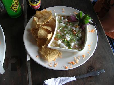 Ceviche de pescado, Costa Rica, vuelta al mundo, round the world, La vuelta al mundo de Asun y Ricardo, mundoporlibre.com
