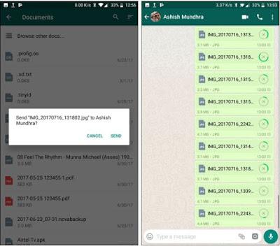 Cara Mengirim Foto Resolusi Penuh di WhatsApp
