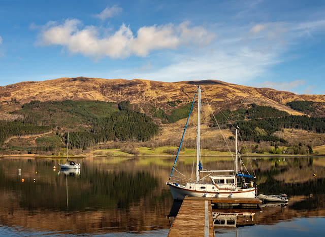 Photo of more boats on Loch Leven