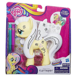 MLP Design-a-Pony Fluttershy Brushable Pony