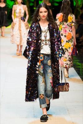 Kimono di passerella D&G foto Pinterest