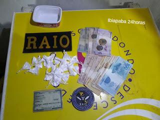 RAIO REALIZA APREENSÃO DE COCAÍNA EM UM BAR NO MUNICÍPIO DO GRAÇA