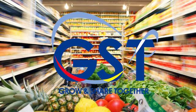 Kerajaan Membatalkan GST Ke Atas 60 Barangan Makanan