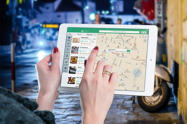 ipad travel planning