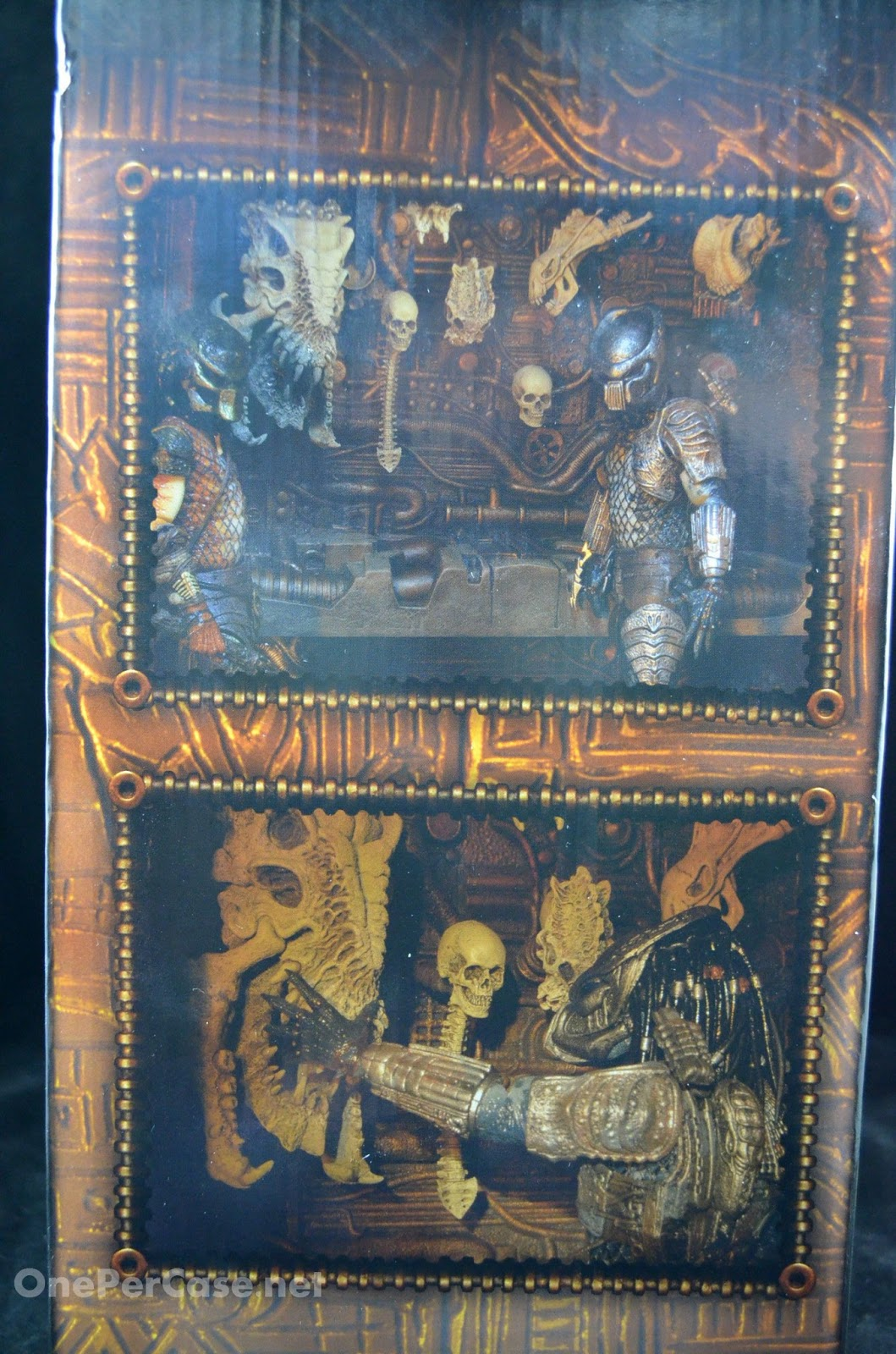 One Per Case: NECA Predator 2 - Trophy Wall Diorama