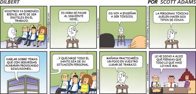 viñetas de historia de personas toxicas
