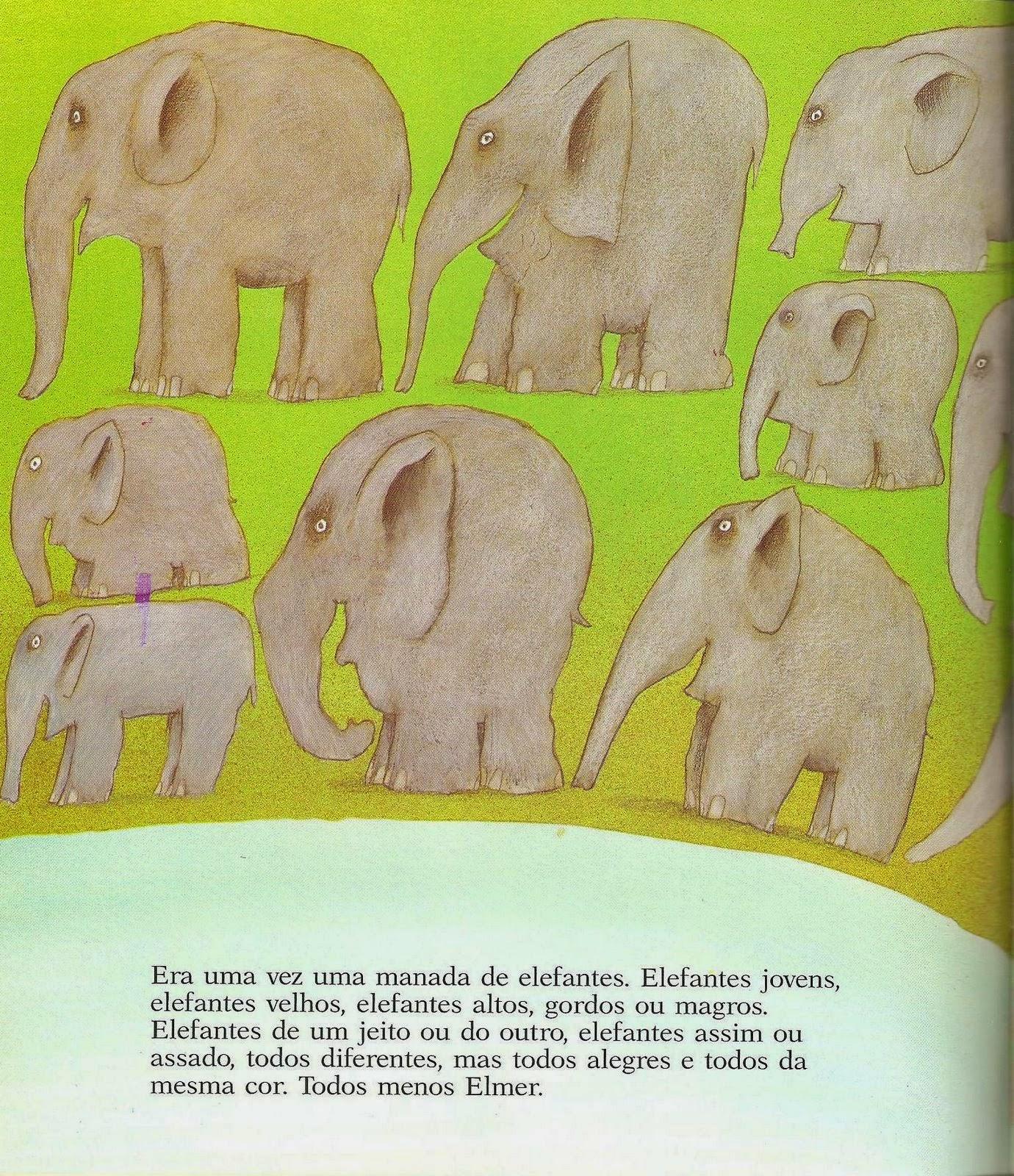 Atividades para baixar: Livro Elmer o elefante xadrez para