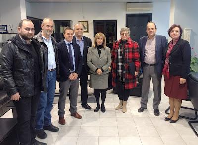 Αποτέλεσμα εικόνας για Σύσκεψη Αηδονά- Δήμαρχων Πέλλας