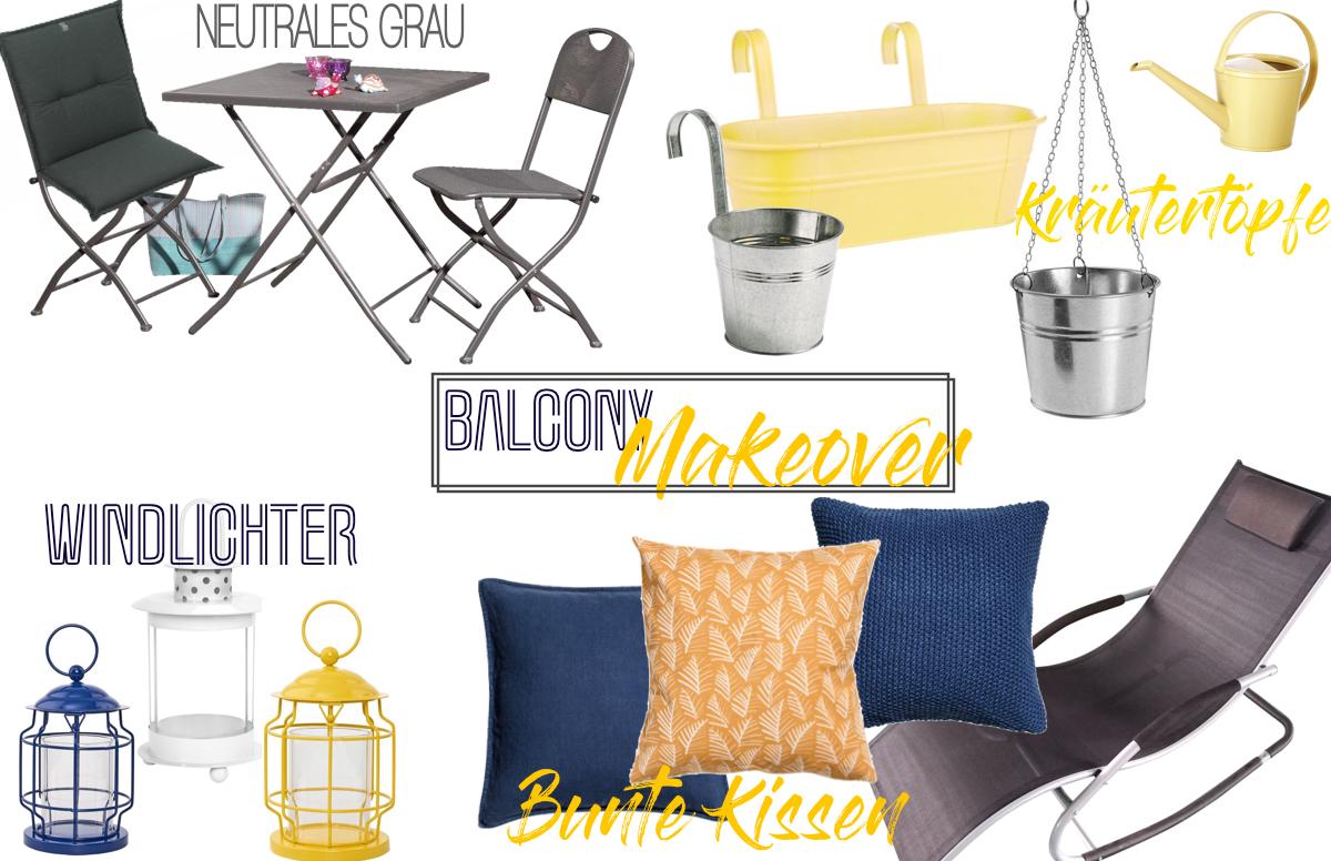 Balcony Makeover - Umgestaltung mit Klickfliesen und neuer Deko