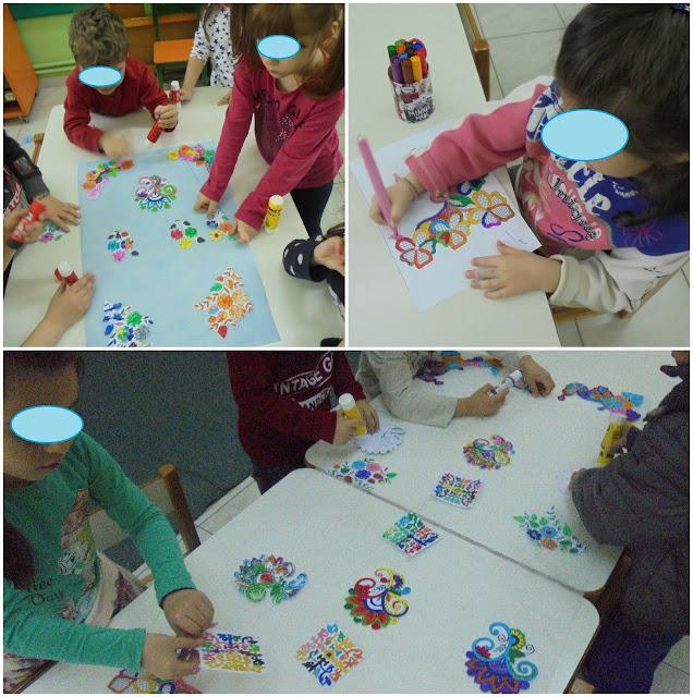 χρωματιζουμε μοτίβα...