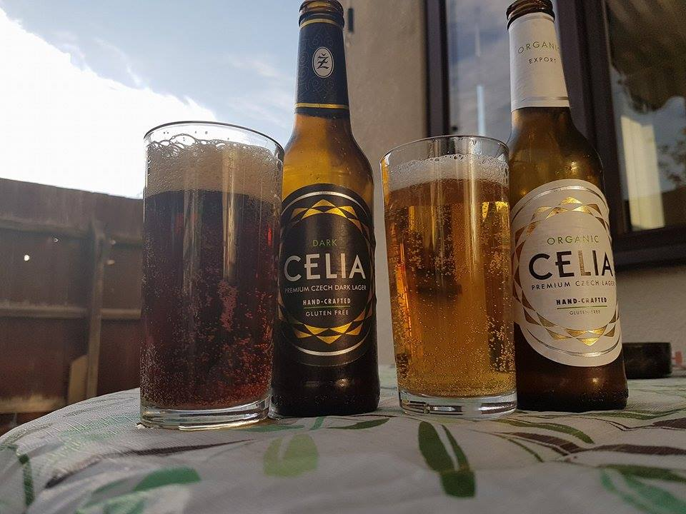 Gluten Flee beer by Celia Lager | Wasted Little PJ Scottish Male Lifestyle Blog
