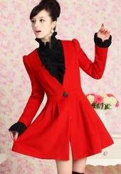 http://www.rosegal.com/coats/puff-sleeves-v-neck-skinny-54581.html