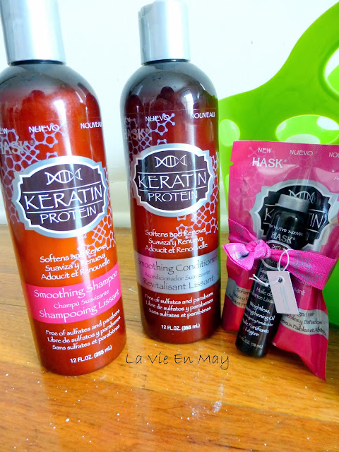 hask keratin protein oil review