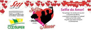 """Concurso Cultural """"Selfie do Amor"""""""
