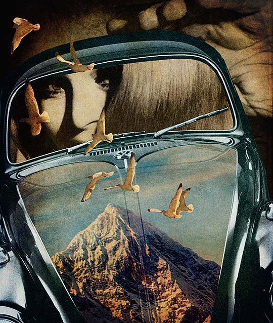 Ilustración, collage y arte de Peter Horvath
