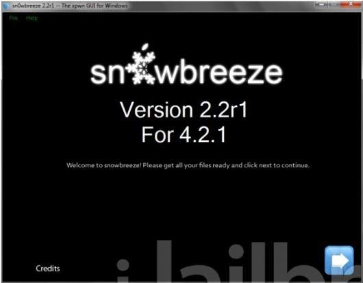 Sn0wbreeze 2.2 To Jailbreak iOS 4.2.1 With Preserving The Same Baseband