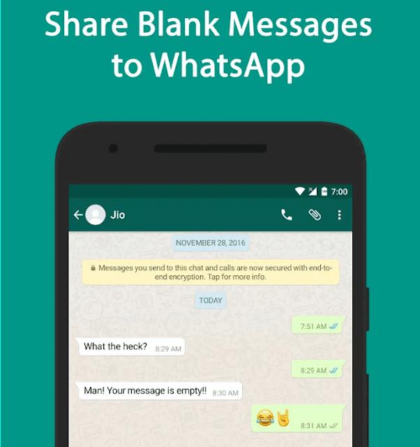 Cara Membuat Nama Blank WhatsApp