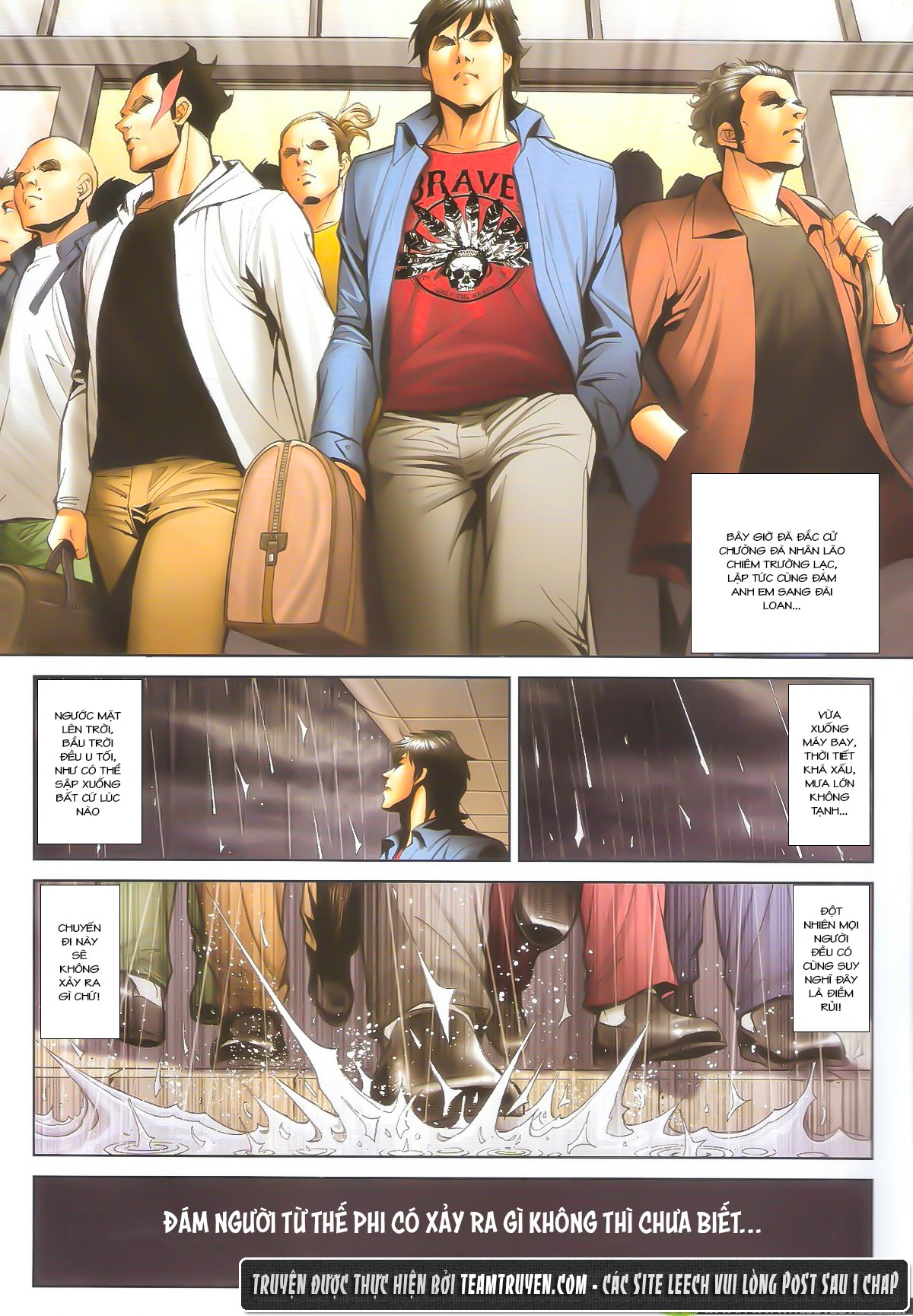 Người Trong Giang Hồ chapter 1604: hồng hưng vs trường lạc trang 29