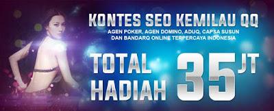 Info Terbaru Kontes seo Agen Poker dan domino online Kemilauqq.com
