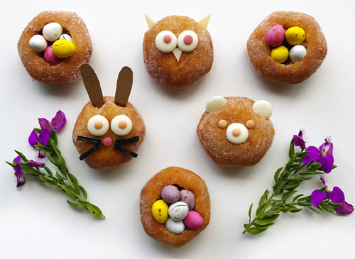 How to Make Animal Theme Donuts