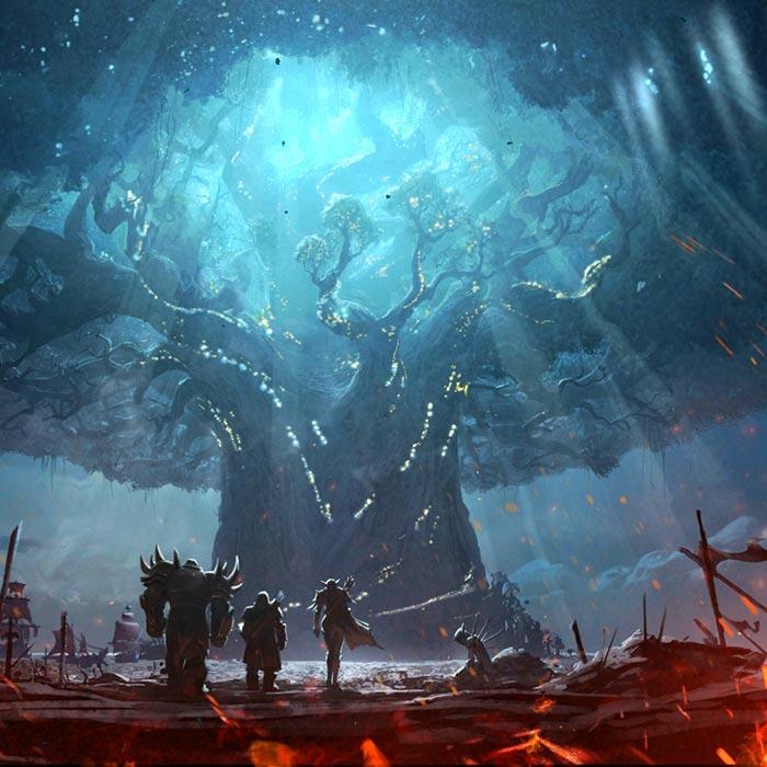 World Of Warcraft Battle For Azeroth Wallpaper Engine
