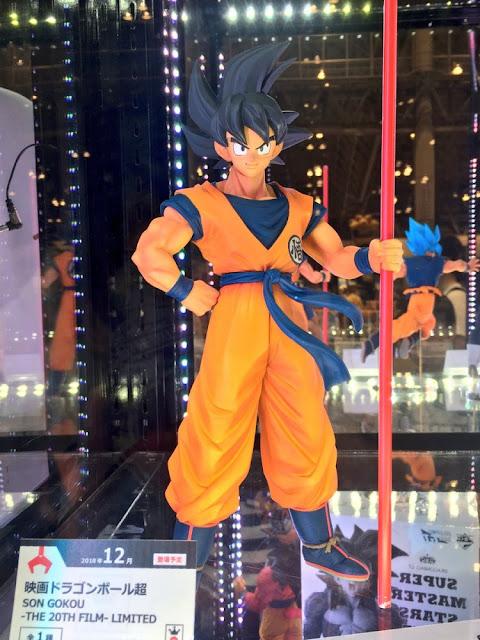 El nuevo diseño de Broly de Dragon Ball Super: Broly mostrado en la Jump Victory Carnival 2018 Figuras Banpresto