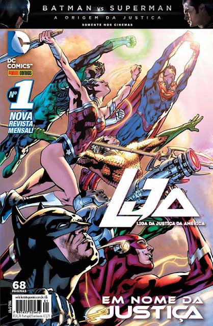 Review: LJA #1 (Editora Panini)
