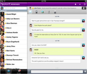 Yahoo! Messenger 11.5.0.228 Screenshot 1