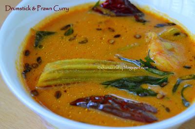 Drumsticks & Prawn Curry