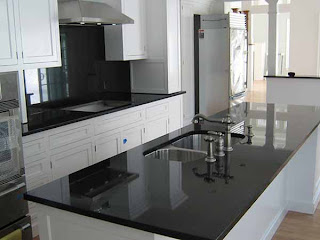 Backsplash Ideas for Black Granite Countertops @ The ... on Backsplash For Black Granite Countertops  id=79769