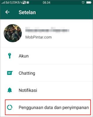 Cara Menghemat Kuota Pada WhatsApp 1