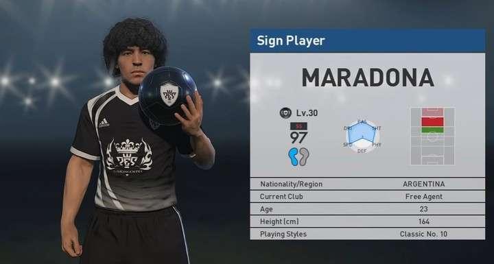 Maradona tomará acciones legales contra Konami por usar su imagen en PES 2017