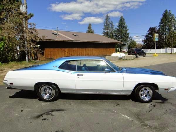 Daily Turismo: 10k: Big n Tall: 1970 Ford Galaxie XL 500