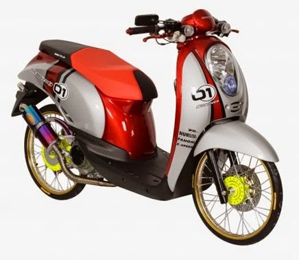 Modifikasi Honda Scoopy