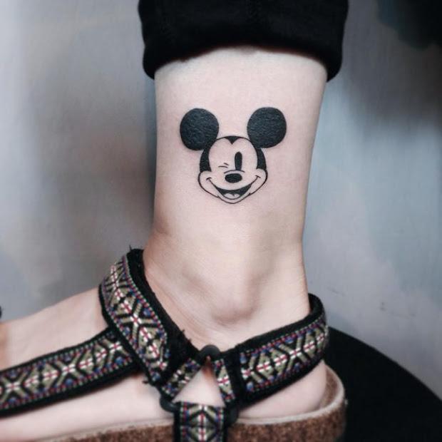 Tatoos Mickey Minnie Besandose Mouse Tattoos Wwwimagenesmycom