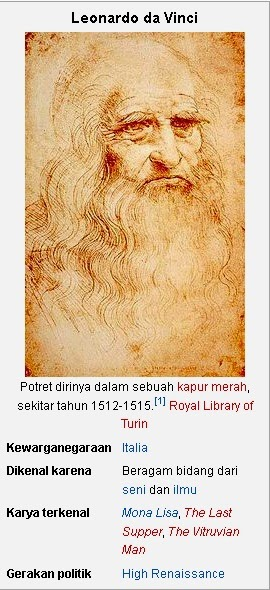 Leonardo da Vinci; Sang Genius, Multi Talenta